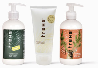 TREHS body lotions